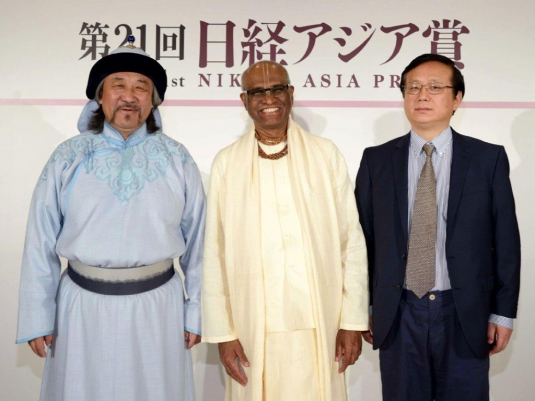 Winners of the Nikkei Asia Prizes