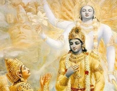 Krishna talks about two different consciousness in which one can work